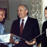 Z Michaiłem Gorbaczowem